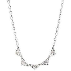 Lenox Silver Celtic love knot Necklace